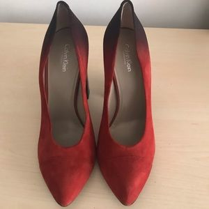 Calvin Klein collection heels size 40